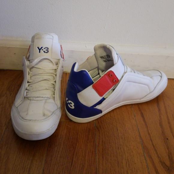7e385eecb Y-3 Kazuhiri Hugh-top sneakers